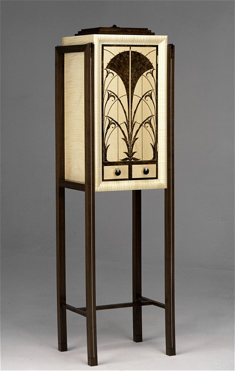 'Art Deco' inspired drinks cabinet