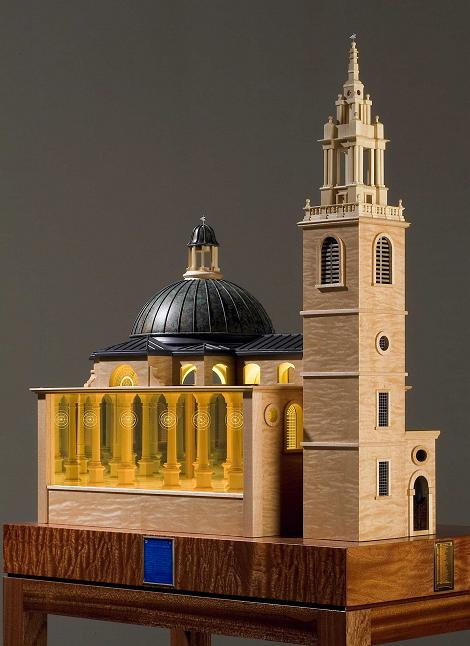 An infinity model, based upon St Stephen, Walbrook
